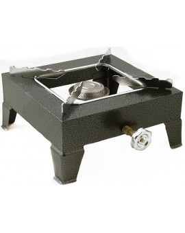 Propane cooker forged single