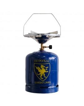 Gas bottle 3Kg + Cooking hob