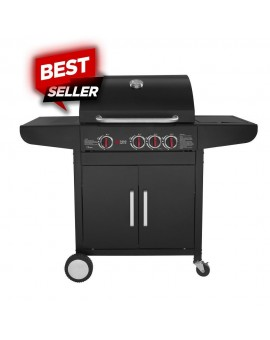 GS GRILL LUX 3+1 CAST IRON - 2
