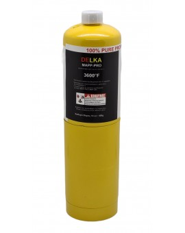 DELKA GAS BOTLE (type Turbotorch)